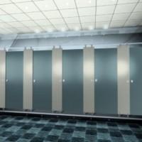 Thi công vách ngăn toilet cho ĐH Hoa Sen