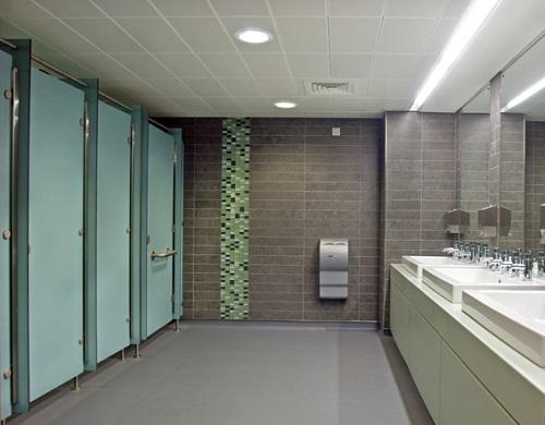 Những công trình thường sử dụng vách ngăn wc
