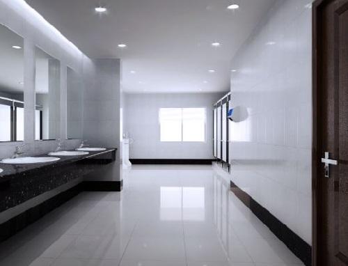 Nhà vệ sinh với thiết kế độc đáo sử dụng vách ngăn đẹp