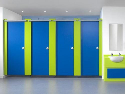 Sản phẩm vách ngăn lựa chọn phù hợp cho nhà vệ sinh