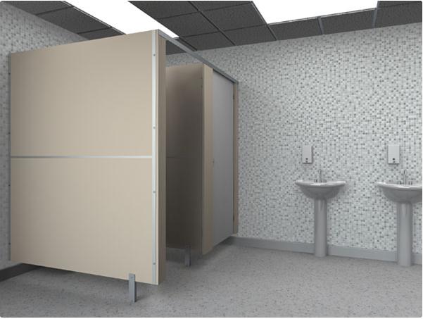Vách ngăn vệ sinh compact và mfc mỗi loại một tiện ích khác nhau
