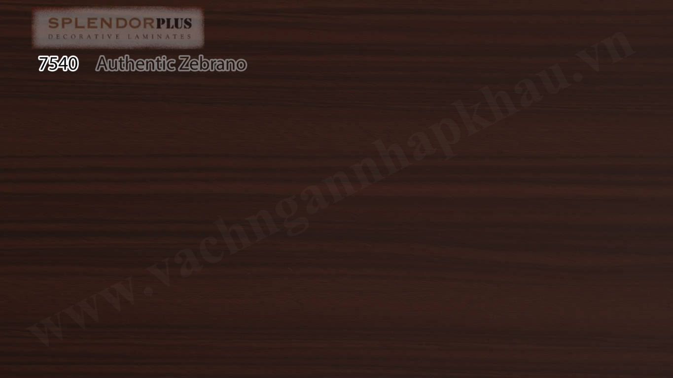 Laminate Splendor 7540 Authentic Zebrano
